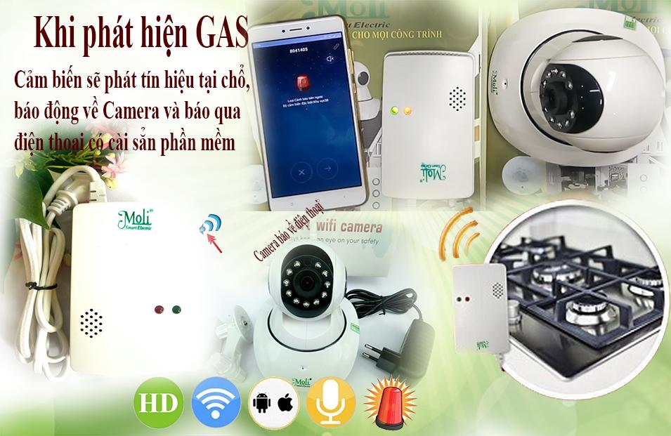 Camera Tích Hợp Báo Gas - Bảo Vệ An Toàn Chị Em Nội Trợ