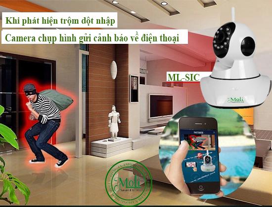 Sản phẩm thông minh bảo vệ ngôi nhà bạn - Camera Smart Wifi MoLi